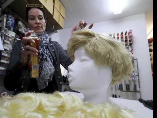 Trump Wigs in Big Demand for Austrian Carnival-Goers