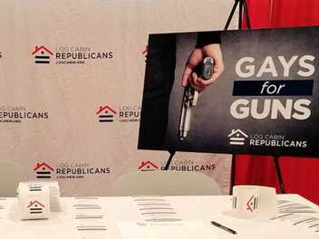 What Anti-Trans Move? Log Cabin Republicans Silent on Trump's New Bathroom Policy