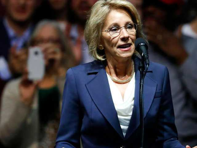 Reports: DeVos Originally Opposed Trump Admin's Move to Rescind Transgender Students Rights