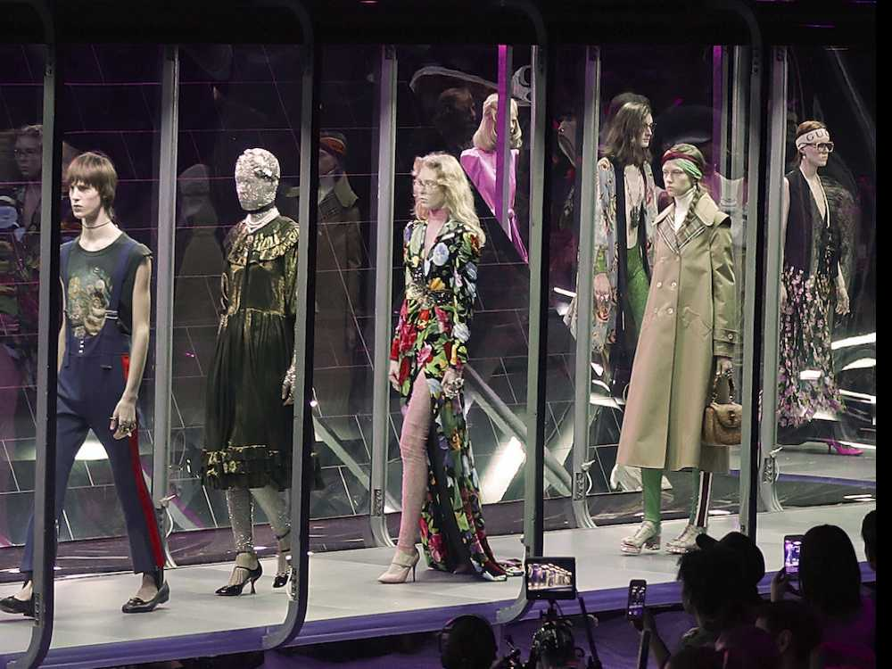 Milan Fashion Week: Gucci Goes Otherworldly