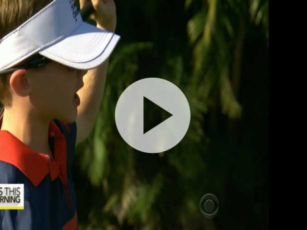 6-Year-Old Golfer with One Arm Inspires On and Off Fairway