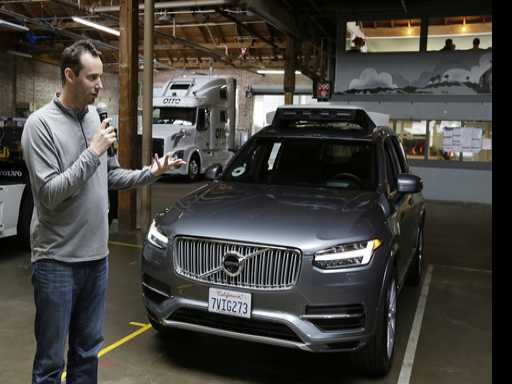 Google-Bred Company Accuses Uber of Self-Driving Car Theft