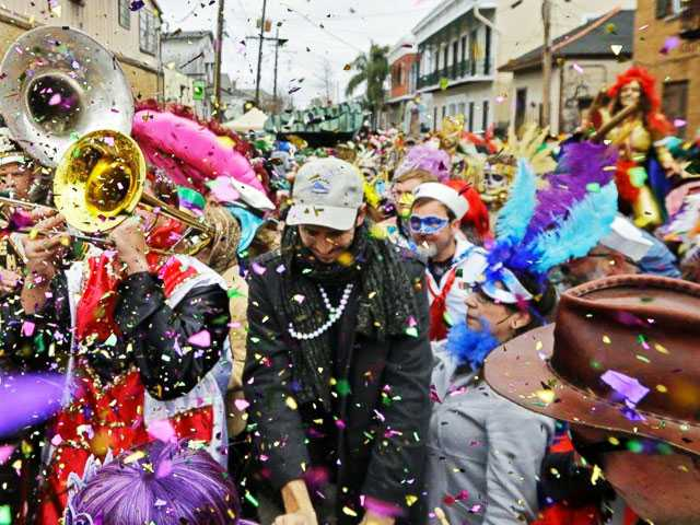 New Orleans Launches 1st Ever Inclusive Mardi Gras Reverse Parade