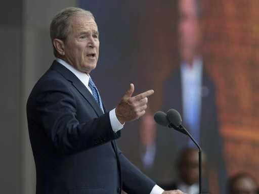 George W. Bush on Trump and Russia: 'We All Need Answers'