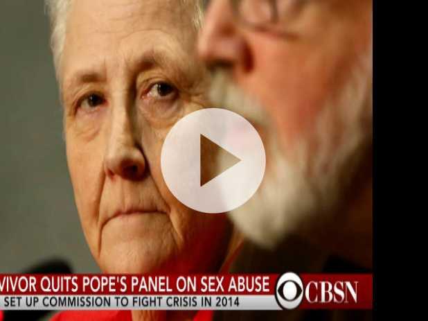 Survivor Quits Pope's Panel on Sex Abuse
