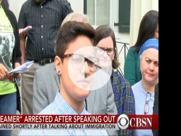 'DREAMer' Arrested After Speaking Out About Immigration