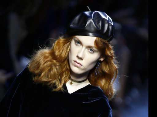 Paris Fashion Week: Dior Sings the Blues