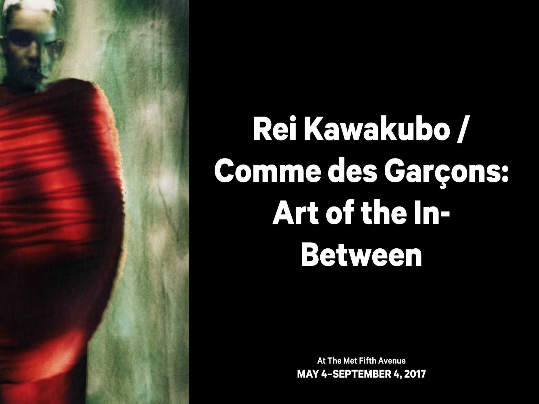 Rei Kawakubo Exhibit Previews in Paris