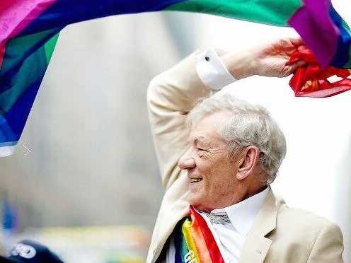 Sir Ian McKellen Honorary Chair of Night of a Thousand Gowns