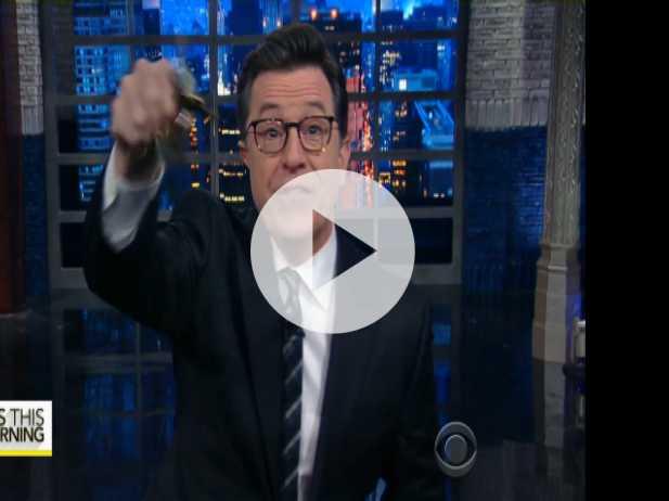 Late-Night Shows & Trump Jokes