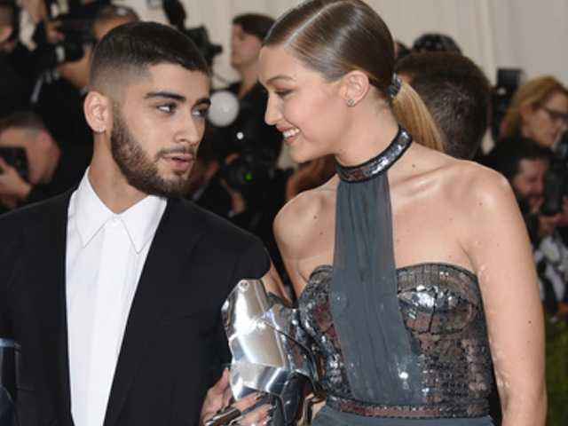 Gigi Hadid Photographs Boyfriend Zayn Malik for Versace