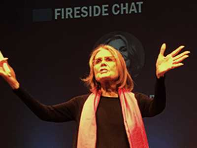 In SF Speech, Steinem Urges Women to Take Action