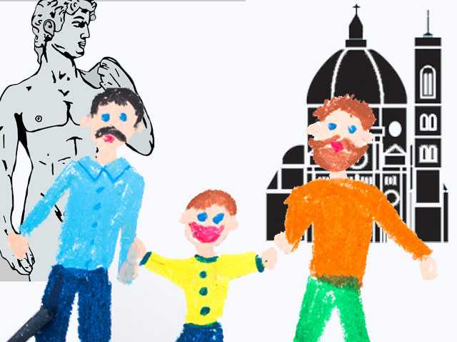 Italy Court Recognizes Non-Biological Overseas Gay Adoption