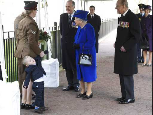 Boy, 2, Throws Tantrum During Encounter with Queen Elizabeth