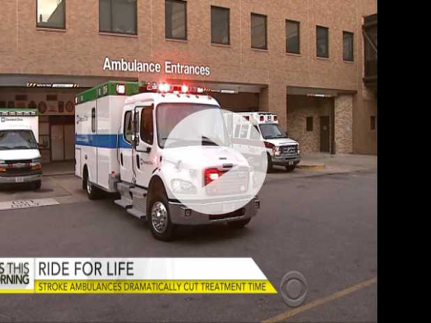 Stroke Ambulances Cut Treatment Time