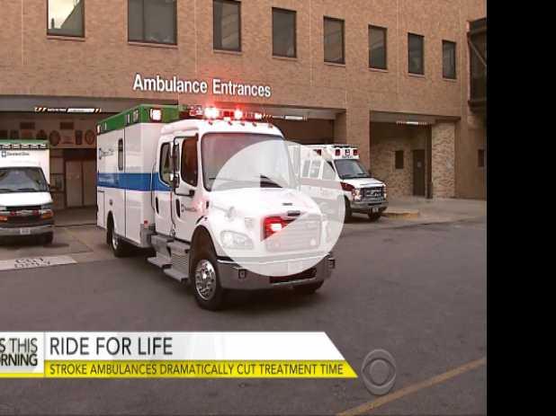 Stroke Ambulances Cut Treatment Time