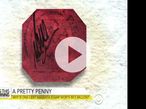 Story of One-Cent Stamp Worth $9.5M