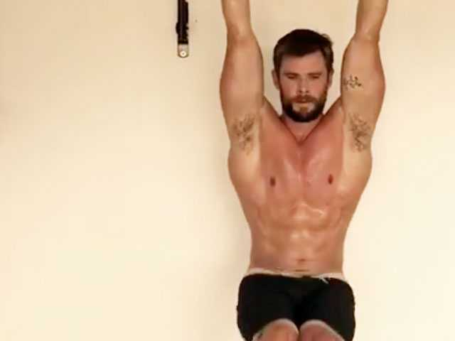 ICYMI: Watch Chris Hemsworth's Intense Workout