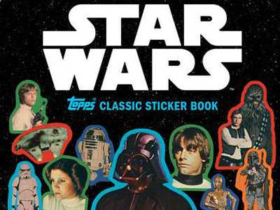 Review :: Star Wars Topps Classic Sticker Book