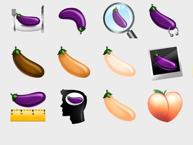 Grindr Introduces Its Own Set of 'Gaymojis,' Which Includes a Variety of Eggplants
