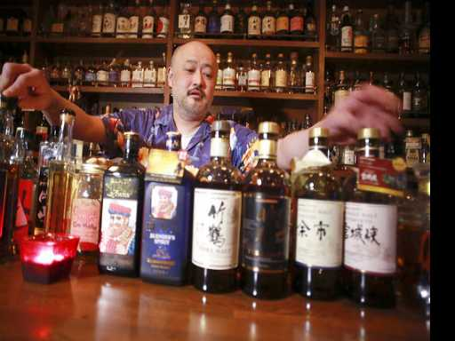 Japan's One-Ups Scotch With Whisky