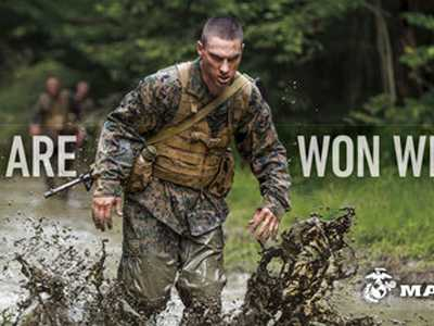 New Ads Show Marines As Good Citizens, Warriors