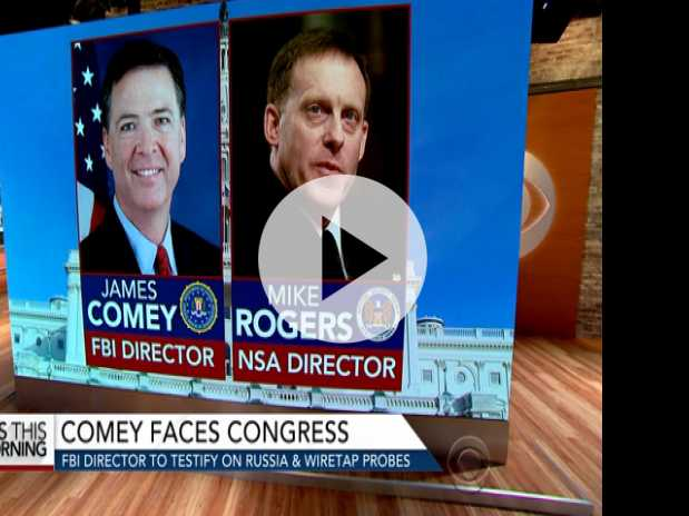 FBI Director Comey to Testify on Russia, Trump Wiretap Probes