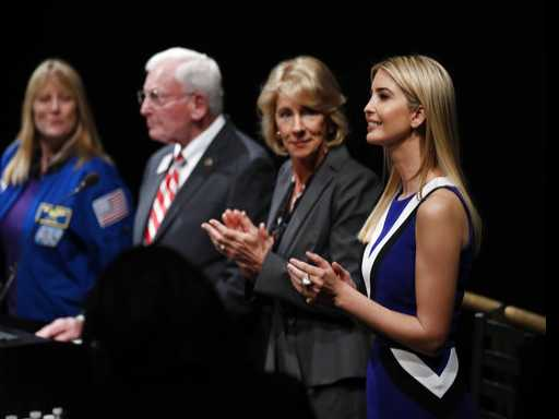 Ivanka Trump, Education Secretary DeVos Promote STEM Careers