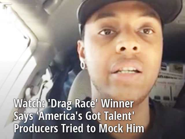 Watch: 'Drag Race' Winner Says 'America's Got Talent' Producers Tried to Mock Him