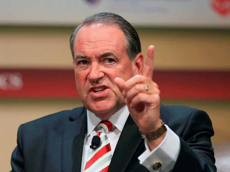 Listen: Did Mike Huckabee Suggest Lindsey Graham is Gay?
