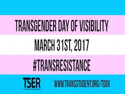 On Transgender Day of Visibility, Mobilize Against Oppression