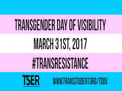 On Transgender Day of Visibility, Mobilize Against Oppression