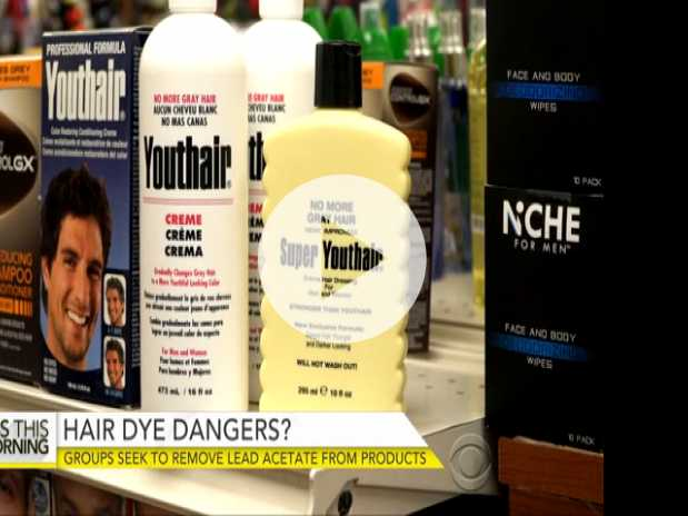 Groups Sound Alarm on Lead Acetate in Men's Hair Dyes
