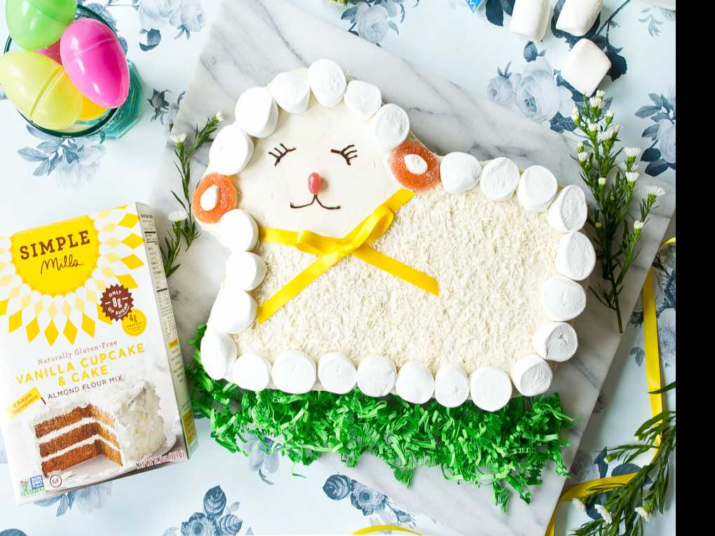 Recipe: Easter Lamb Cake