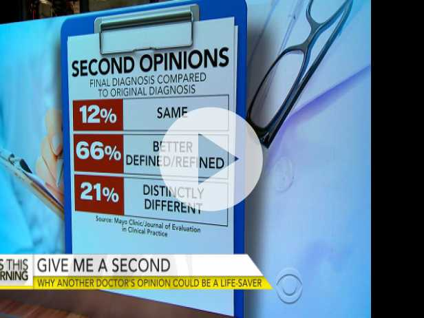 Getting A Second Opinion from a Doctor Could Be A Lifesaver