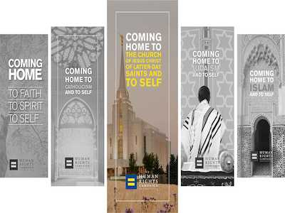 HRC Releases New 'Coming Home' Faith Guide for LGBTQ Mormons