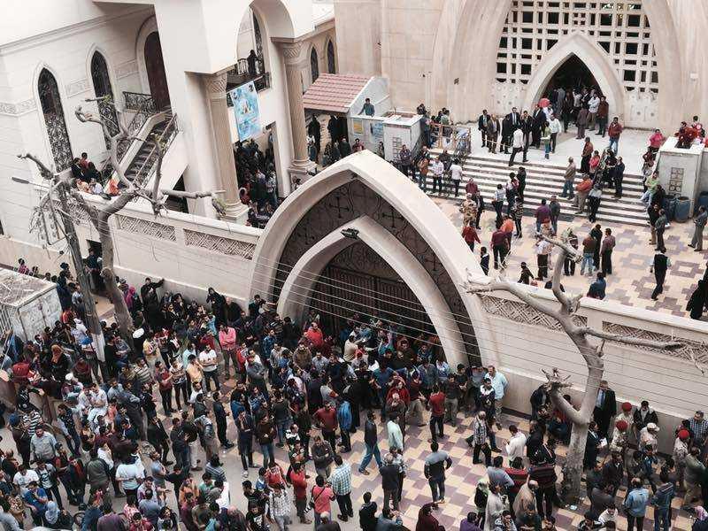 Church Bombings In Egypt Kill 37, Wound Dozens