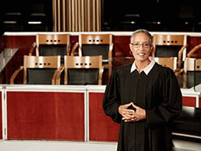 Former Judge Stars in TV Show