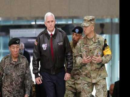 Pence Warns North Korea 'Era of Strategic Patience is Over'