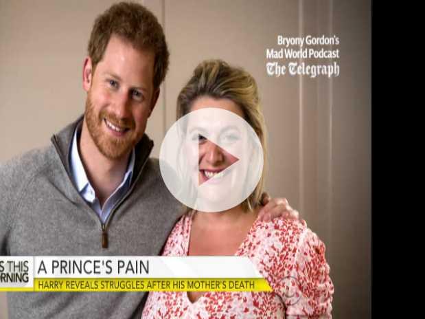 Prince Harry Reveals Struggle After Mother's Death