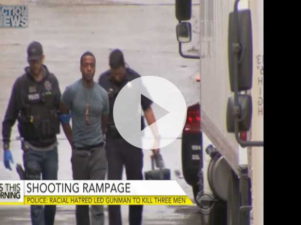 Did Racial Hatred Lead Gunman to Kill 3 Men in California?