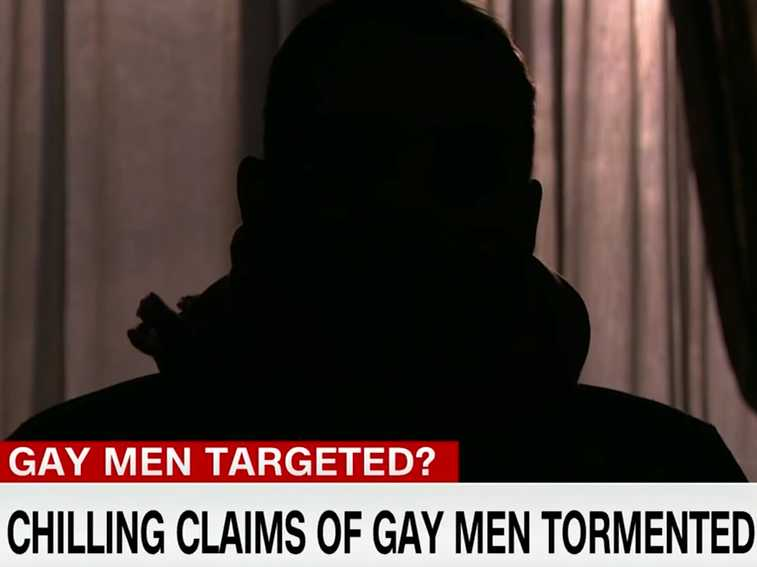 Watch: In Disturbing CNN Report, Gay Men Speak Out About Abuse in Chechnya