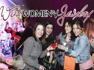 Stadium Theatre Hosts Wine, Women & Jewelry Event