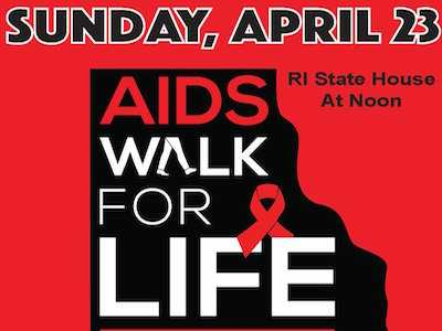 AIDS Walk for Life Benefits AIDS Project RI and AIDS Care Ocean State