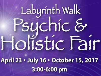 Labyrinth Walk Hosts Psychic & Holistic Fair