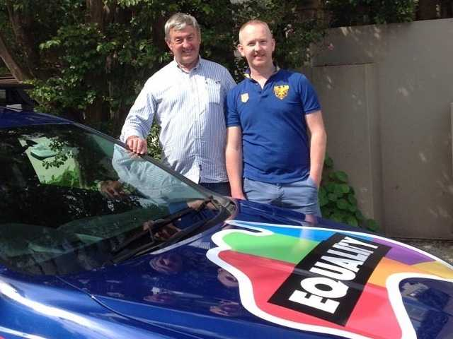 Australian Dad Covers Car in Marriage Equality Stickers to Support Gay Son