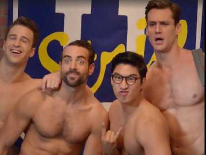 Watch: 'Broadway Bares' Goes Collegiate with 'Strip U'  Trailer