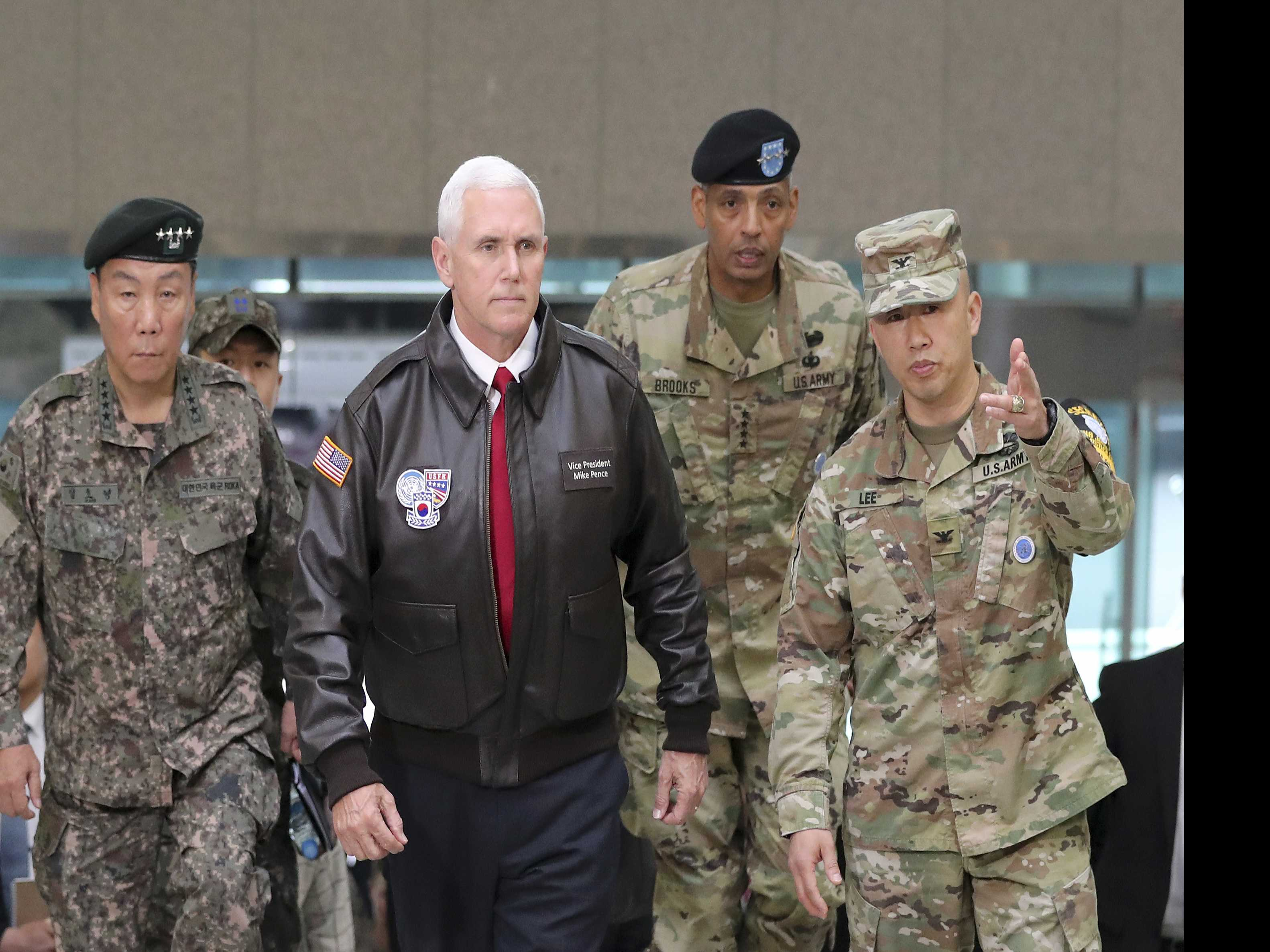 Amid North Korea Crisis, Pence Becomes Trump Emissary Abroad