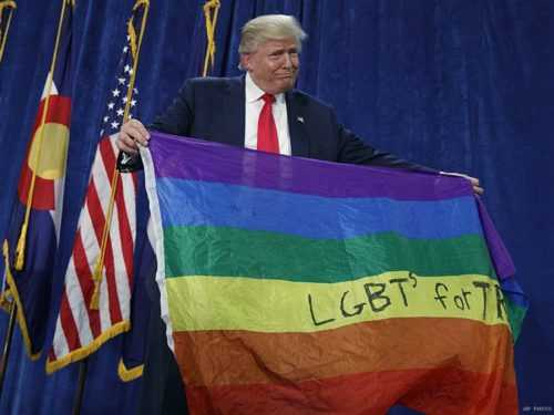 US News and World Report Piece Calls Out Trump's 'Quiet War Against LGBT Americans'