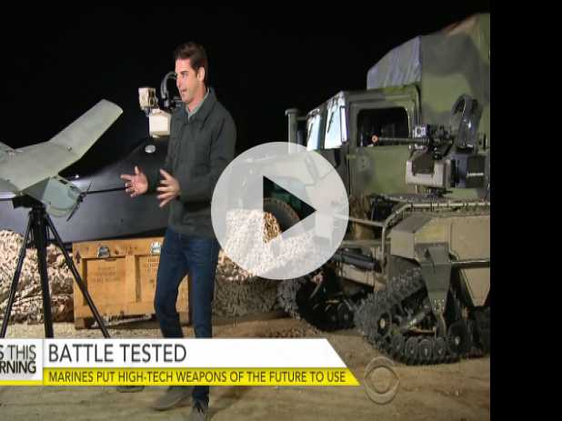 From Drones to Armed Robots, Marines Test High-Tech Weapons